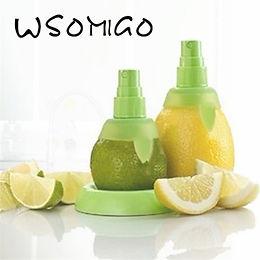 2Pc/Set Green Lemon Sprayer Fruit Juice Citrus Lime Juicer