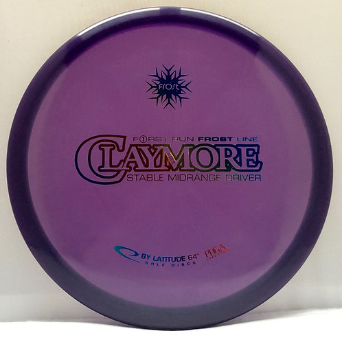First Run Latitude 64 Frost Claymore