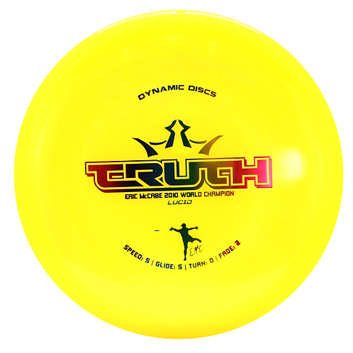 Dynamic Discs Lucid Truth - Eric McCabe Stamped
