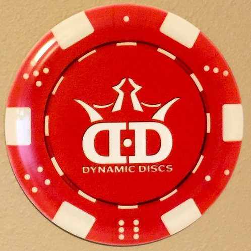 Dynamic Discs Poker Chip Truth Dyemax