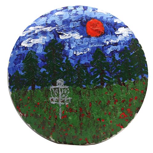 """Strawberry Fields"" - original acrylic painting"