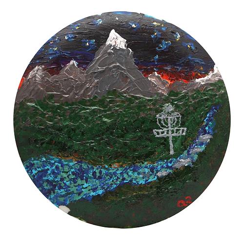 """Mile High"" - original acrylic pai"