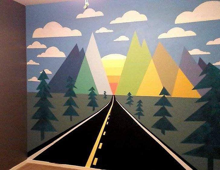 Charlie's Mural