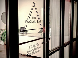 The Facial Bar Front Door