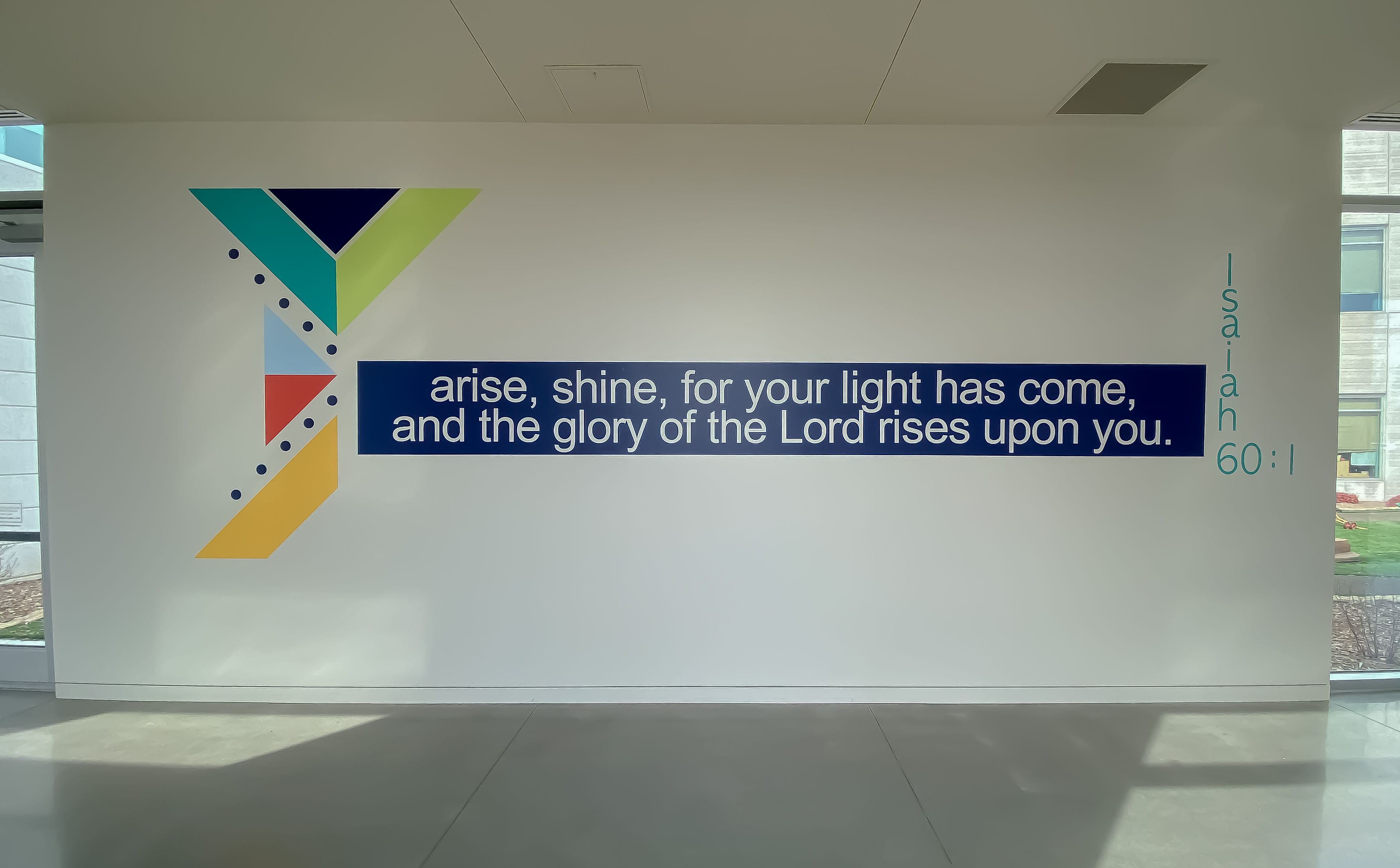 IFL Themed Scripture Verse Wall Decal