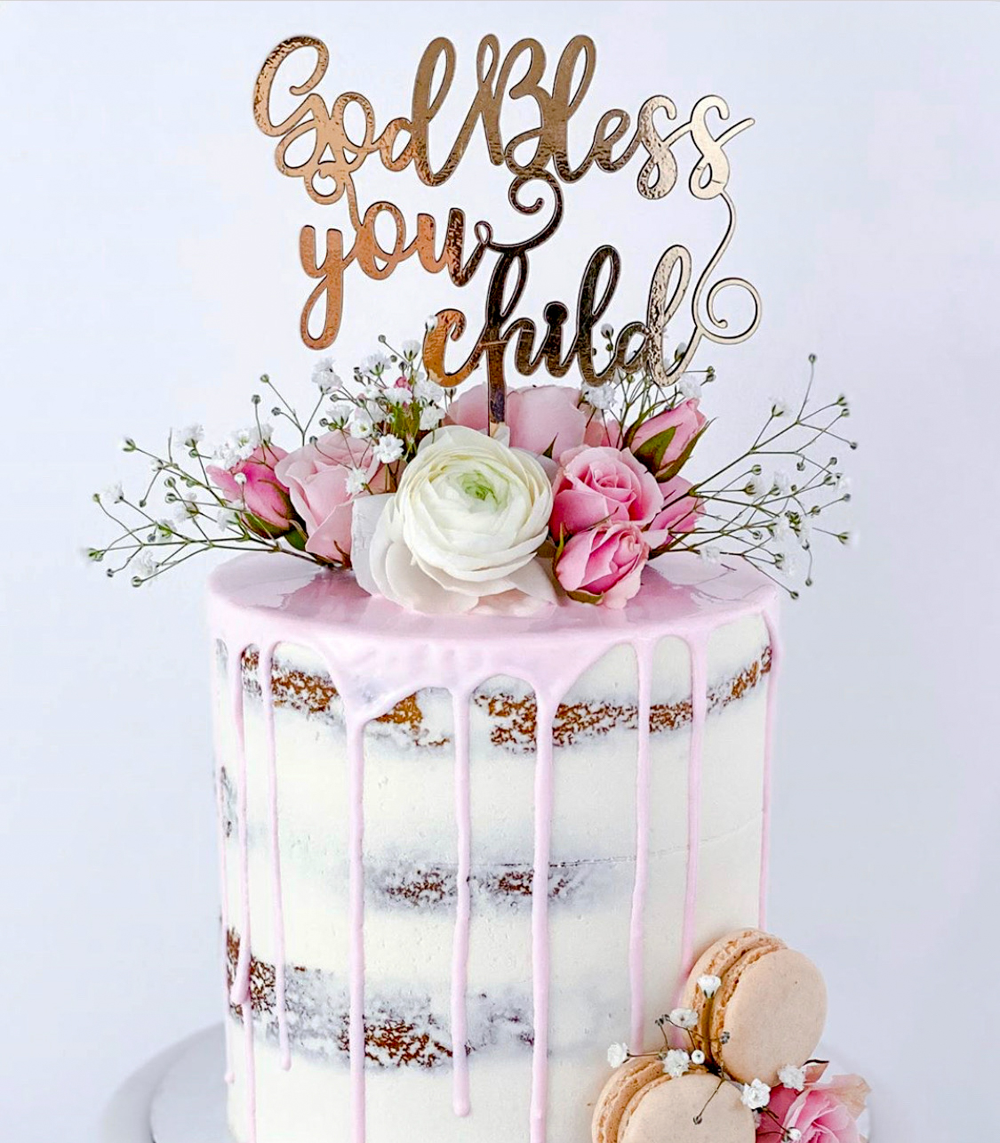 Water to Wheat Cakery LLC Cake Topper