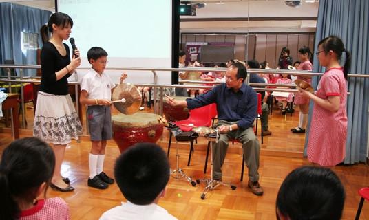 在中小學音樂課協教粵曲