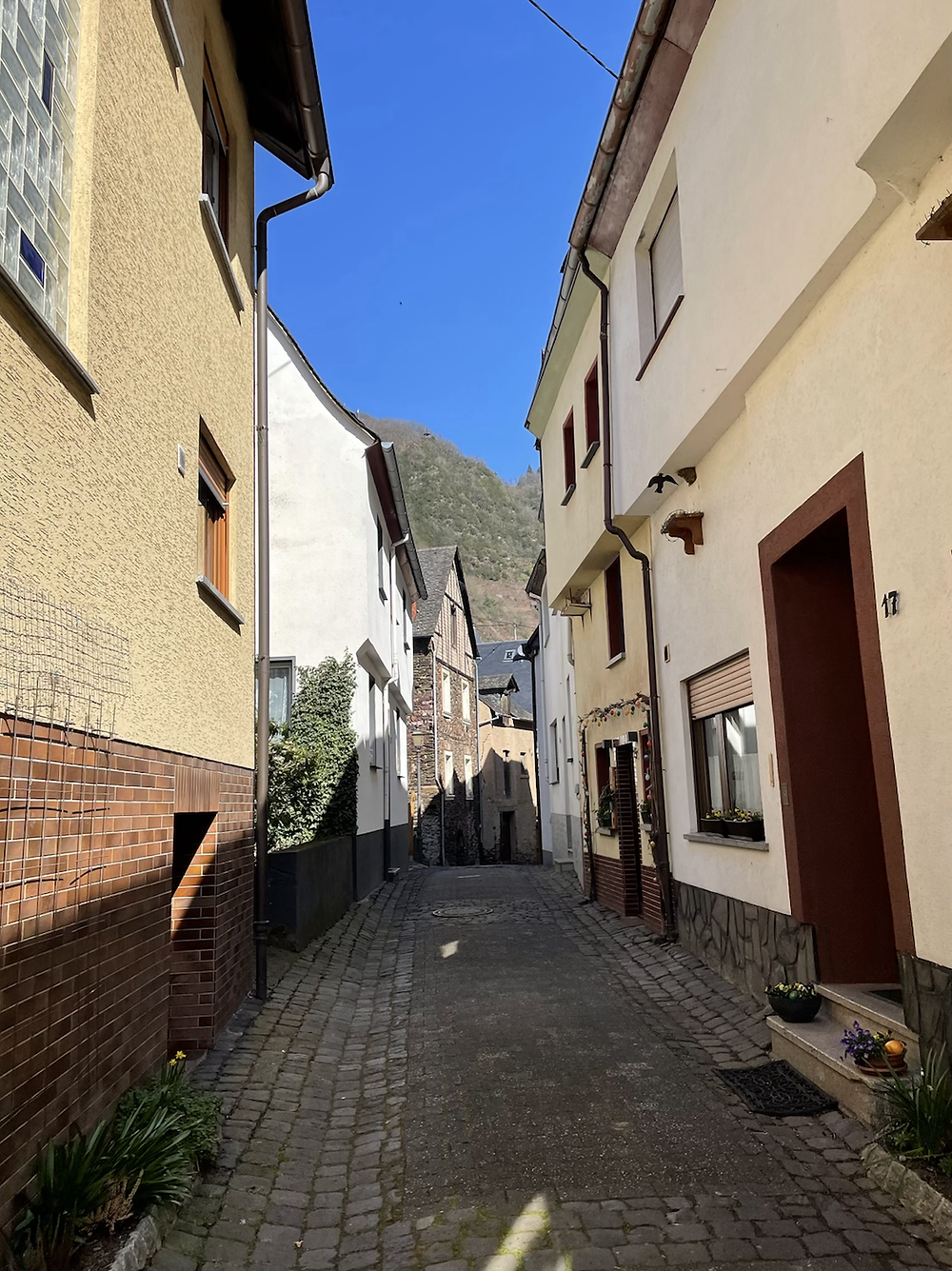 Alleys of Bremm in the Moselle valley