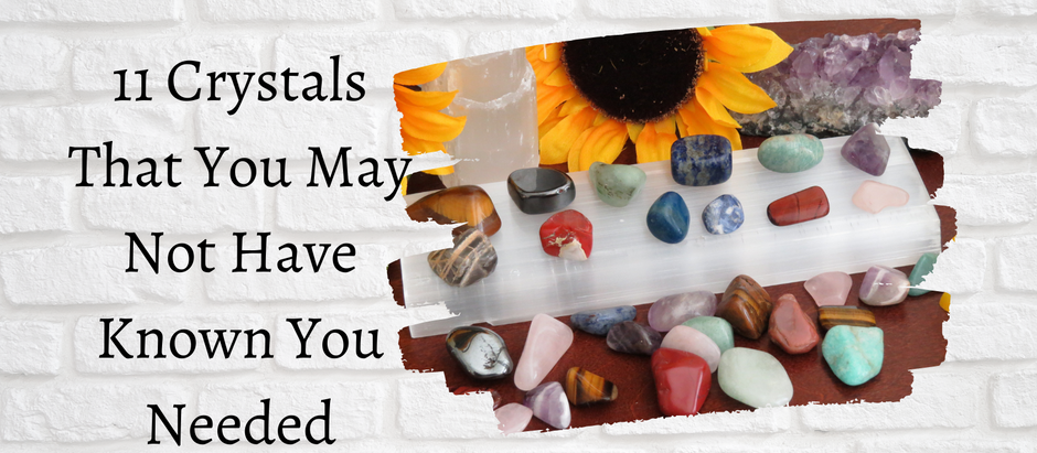 11 Crystals You May Not Have Known You Needed