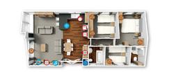 Hamshire floor plan