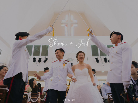 Shimin + Joel | Queenstown Lutheran Church | Wedding Day | Winnie The Pooh