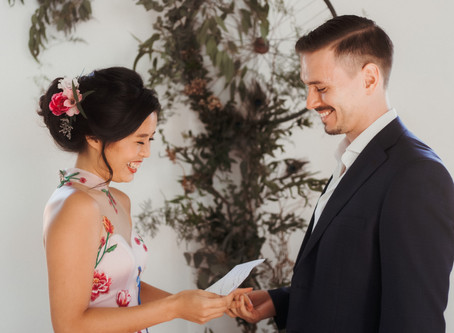 East Meets West | Marilyn & Chris | Styled Shoot