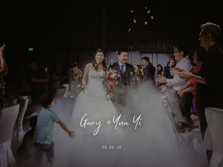 Gary + Yun Yi | PARKROYAL COLLECTION Pickering, Singapore | Wedding Day