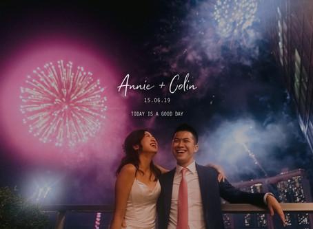 Annie + Colin | Fullerton Bay Hotel | Wedding Day