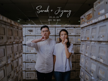 Sarah + Jiyang | Golden Mile Complex | Prewedding
