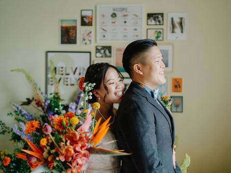 Evelyn + Melvin | Intimate Home Solemnisation | Wedding Day
