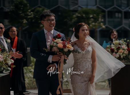 Monica + Alvin | Andaz Singapore| Wedding Day