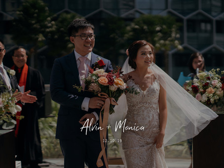 Monica + Alvin | Andaz Singapore| Wedding Day