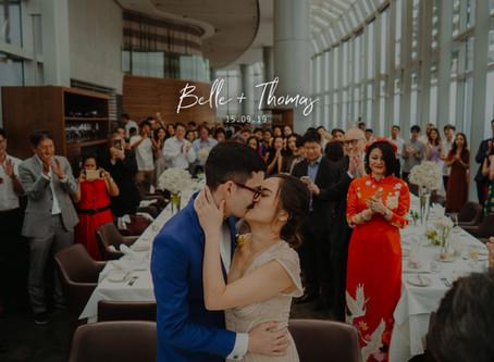 Belle + Thomas | Salt Grill & Sky Bar | Wedding Day