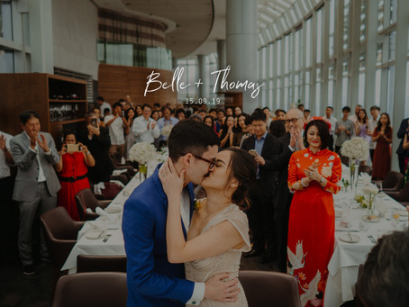Belle + Thomas | Salt Grill & Sky Bar | Wedding Day