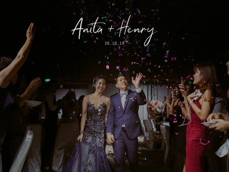 Anita + Henry | PARKROYAL COLLECTION Pickering, Singapore | Wedding Day