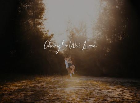 Cheryl + Wei Loon | Hidden Forest Singapore | Prewedding