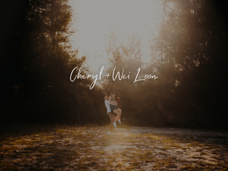 Cheryl + Wei Loon | Hidden Forest Singapore | Prewedding