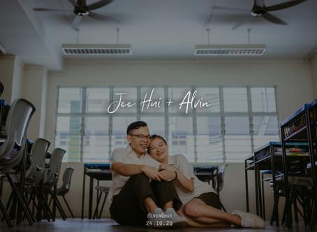 Jee Hui + Alvin | Tampines Secondary School | Prewedding