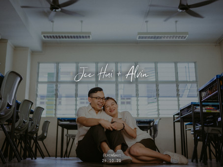 Jee Hui + Alvin | Tampines Secondary School | Prewedding