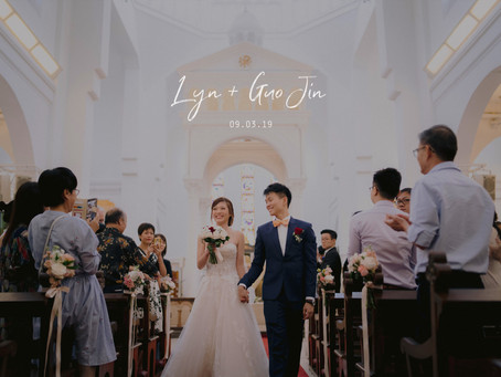 Lyn + Guo Jin | The St. Regis Singapore | Wedding Day