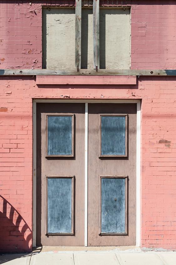 Door With Shadow