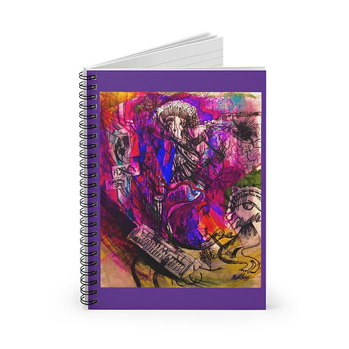 Skyler Meany Spiral Notebook - Ruled Line