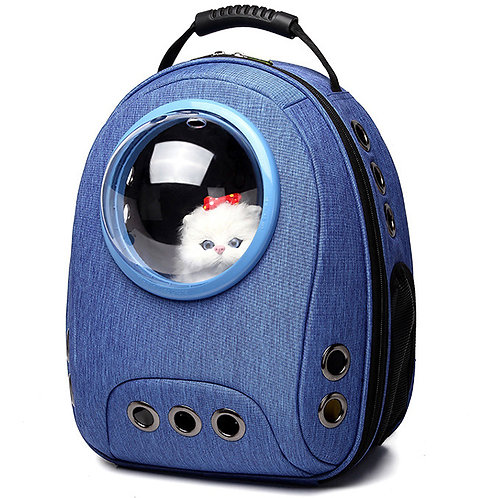 Breathable Pet Backpack With Astronaut Bubble