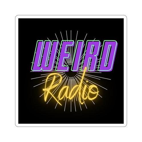 Weird Radio Kiss-Cut Stickers