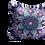 Thumbnail: Purple bird and fish square Velvet cushion - 45cm