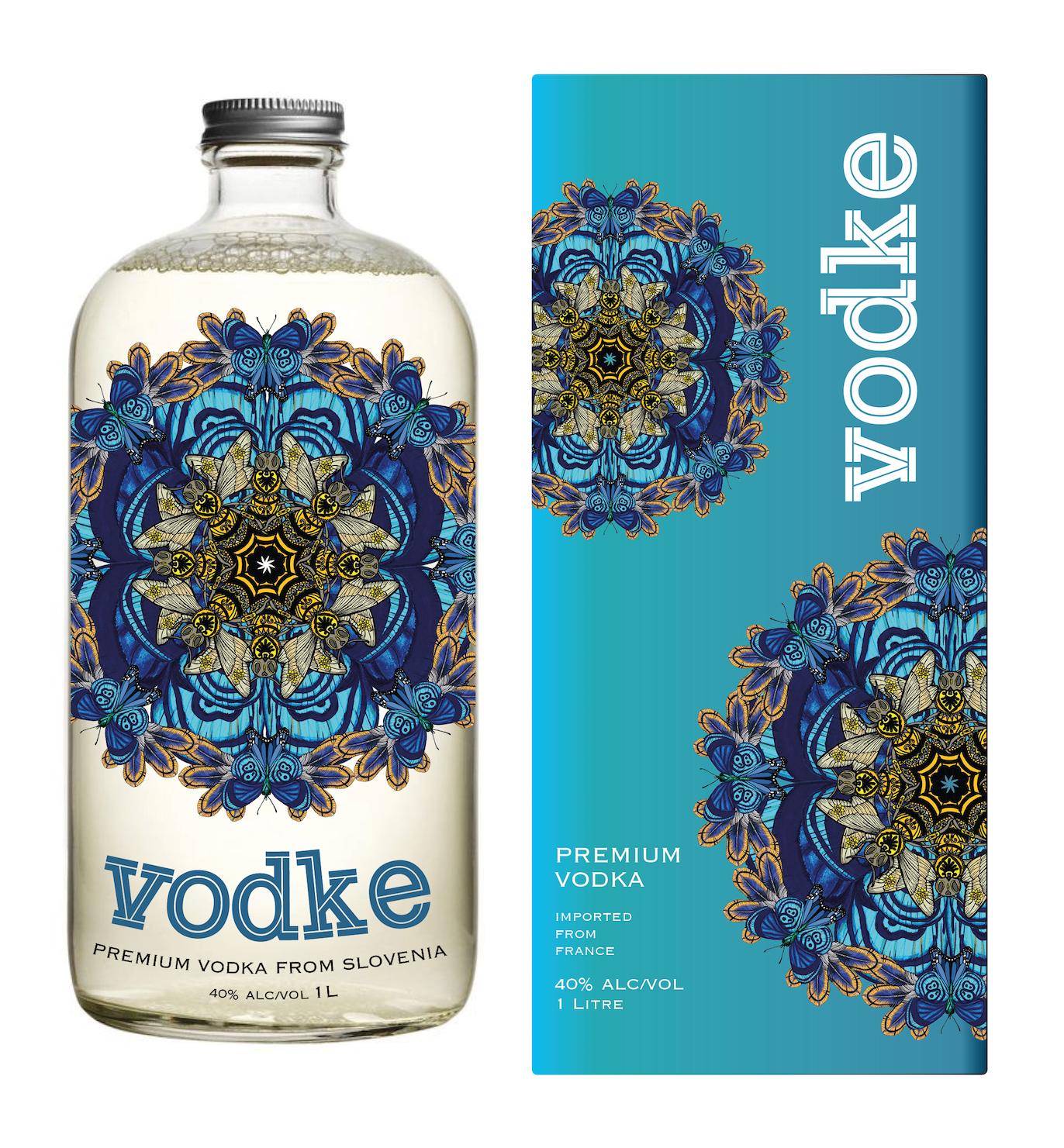 Sapphire summers vodka