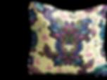 Yellow flamingo designer cushion interior design london