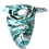 Thumbnail: Green Summer garden silk scarf