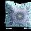 Thumbnail: Under the sea octopus mandala velvet cushion