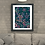 Thumbnail: Dark purple flamingo Fine Art Print - framed