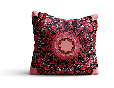 Red butterfly cushion mock up 2 copy.png