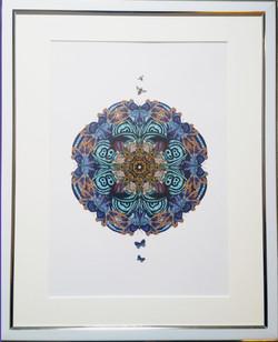 Sapphire Summers mandala art print