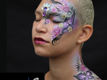 What is a Boho Butterfly? Our adult face art