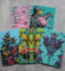 Sapphire Summes animal greetings cards