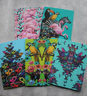 Sapphire Summes animal greetings cards