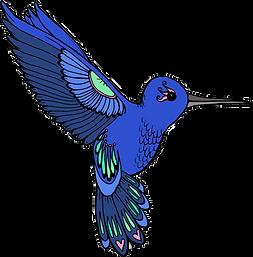 Sapphire Summers Design hummingbird