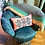 Thumbnail: Pink flamingo wings heart long cushion