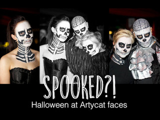 A busy Halloween!
