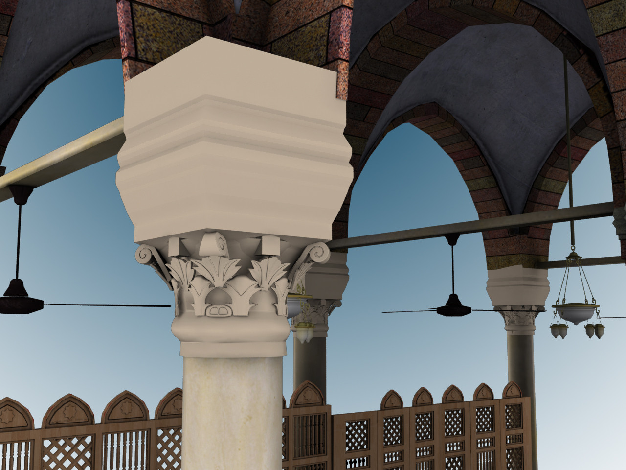 mecca 3d model from point cloud