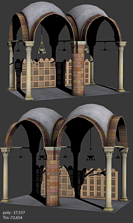 3d model of mecca